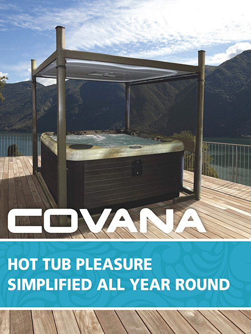 Covana Evolution Automated Hot Tub Cover Crown Spas Amp Pools