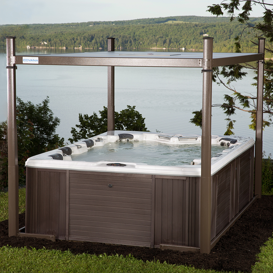 Covana Oasis Automated Hot Tub Cover Crown Spas Pools Wiring Code Canada Evolution