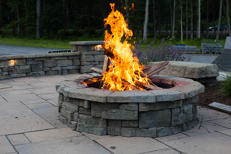 Rosetta Belvedere Circle Firepit Crown Spas Amp Pools