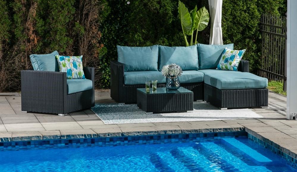 Milan Furniture in Blue