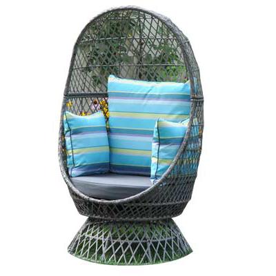 Addison Swivel Nest Chair Grey