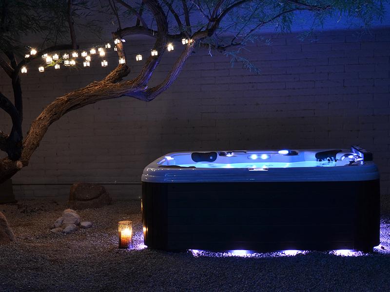 American Whirlpool Hot Tubs – Crown Spas & Pools