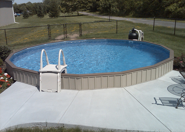 On Ground Swimming Pools Crown Spas Amp Pools Winnipeg