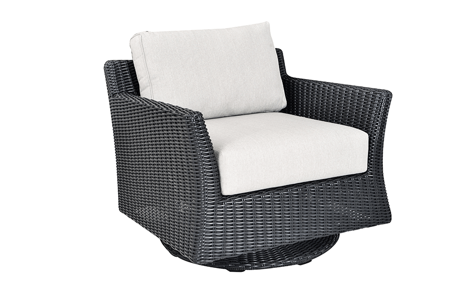 Savannah Collection Swivel Club Chair