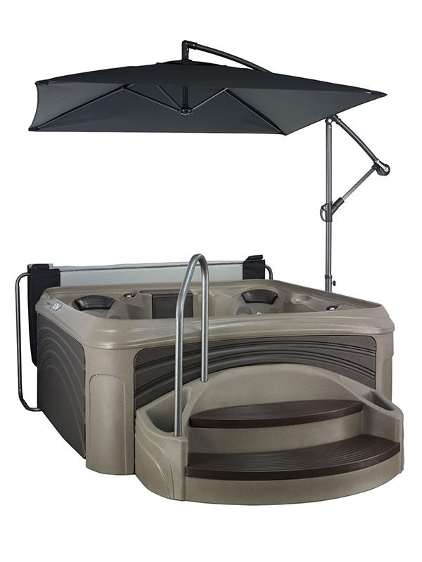 Dream maker cabana 3500 hot tub crown spas pools - American home shield swimming pool coverage ...