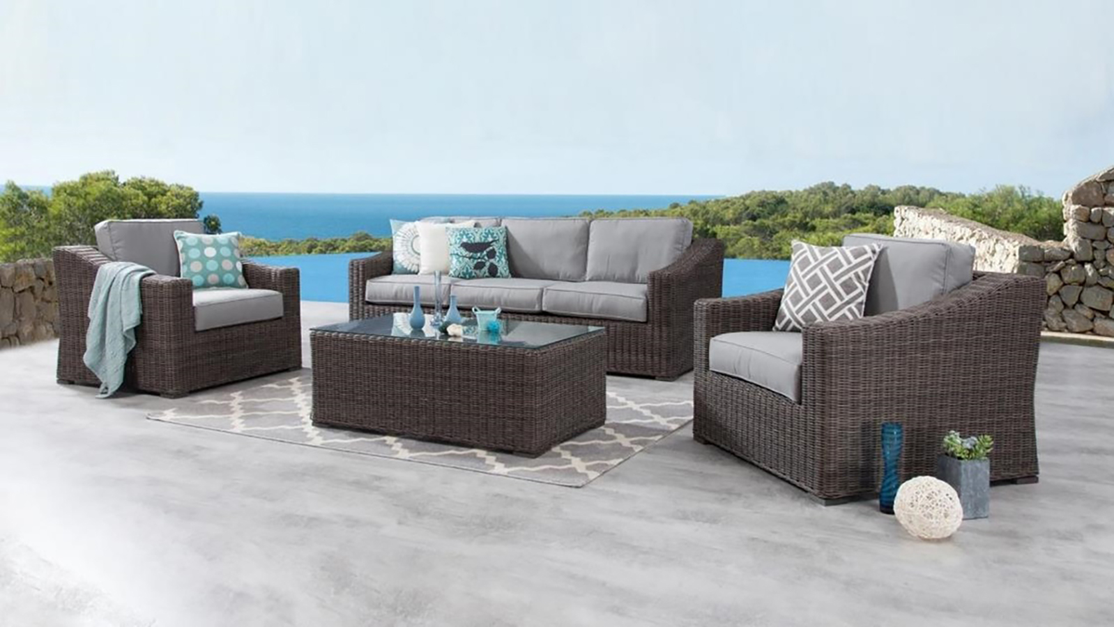 canyon outdoor patio furniture collection