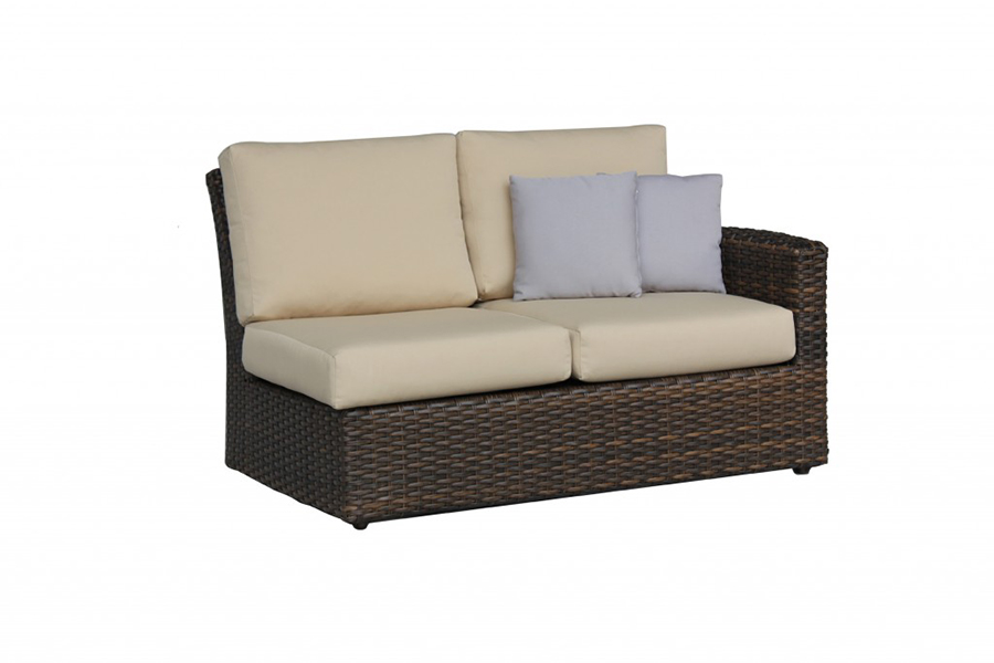 Portfino Left Arm Loveseat
