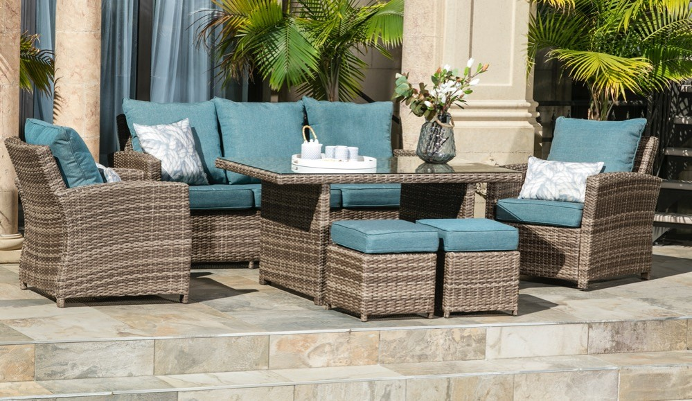Melrose Deep Seating Patio Set