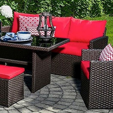 Campini Patio Set