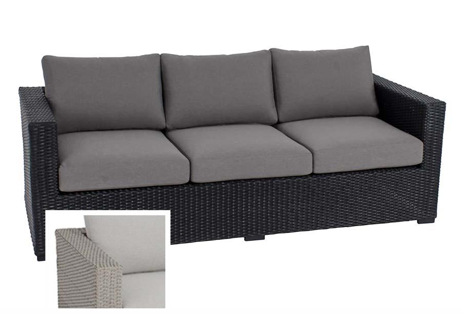 Mila 3-seat sofa