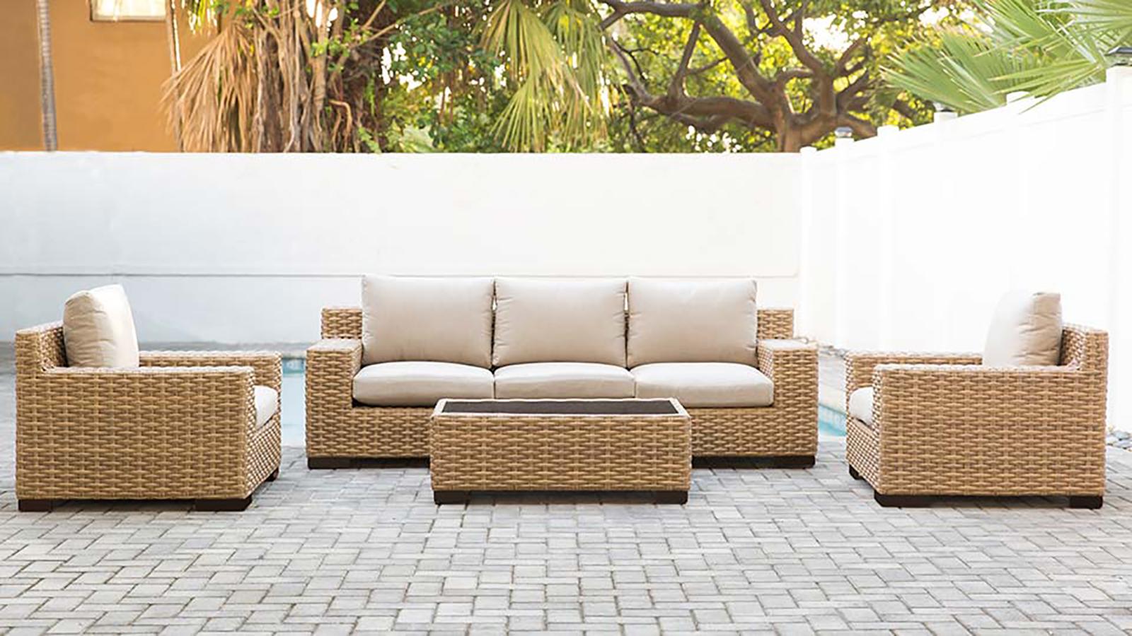 Cabana Deep Seating Furniture Set