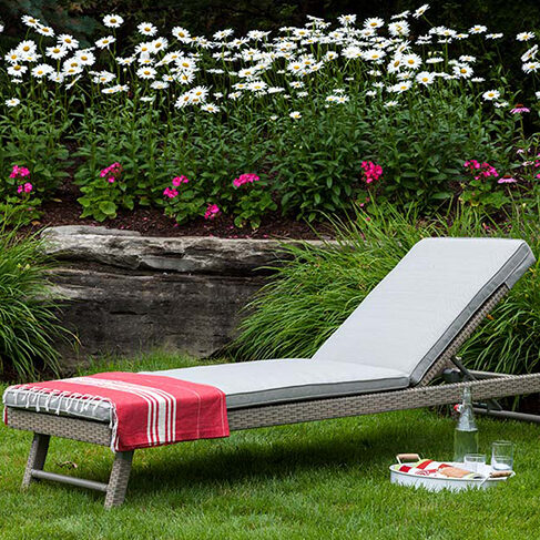Universal Chaise in Gray